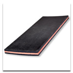 bi coloured sandwich rubber sheets